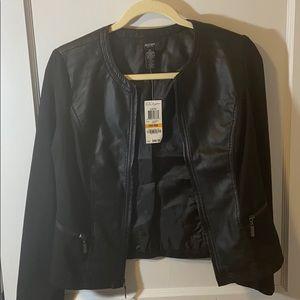 Alfani Faux Leather Jacket NWT